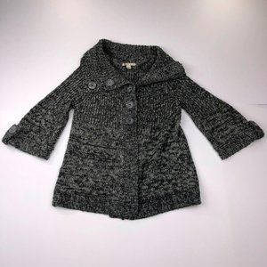 Carolyn Taylor Knit Button up Cardigan Sweater